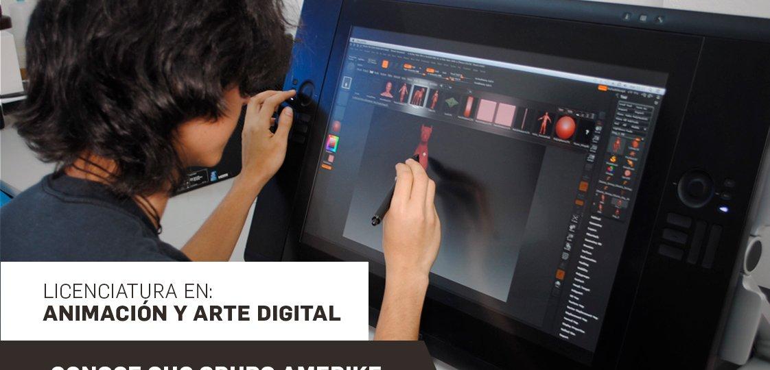 Clase muestra de la Licenciatura en Animación y Arte Digital