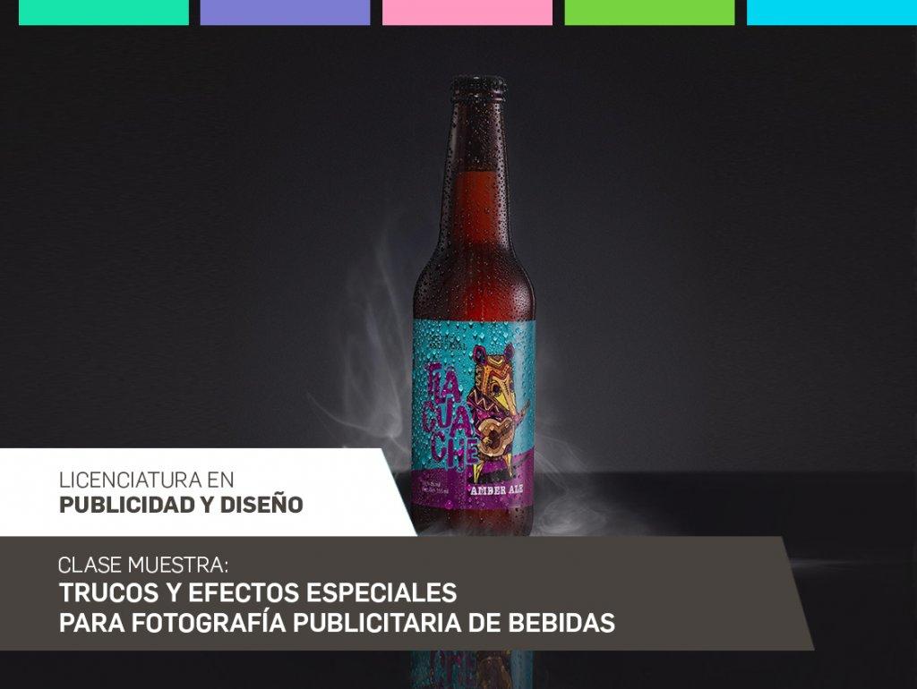 Trucos y efectos especiales para fotografía publicitaria de bebidas