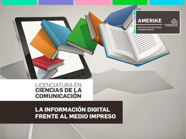 La información digital frente al medio impreso