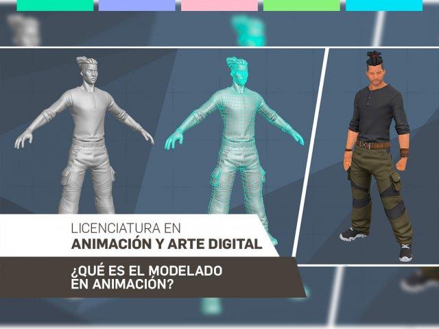 ¿Qué es el modelado en Animación?