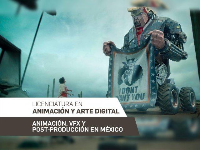 Animación, VFX y Post-Producción en México