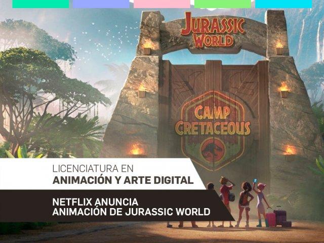 Netflix anuncia animación de Jurassic World